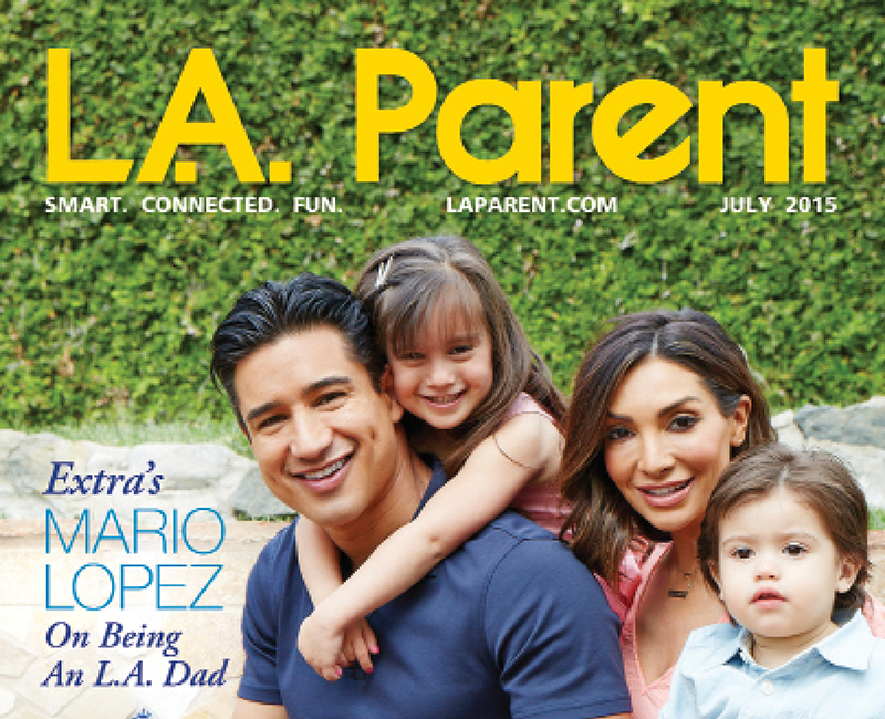 LA Parent Magazine Covers